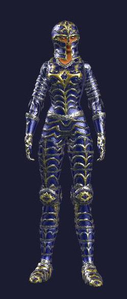 Royal Blue Cermonial Plate